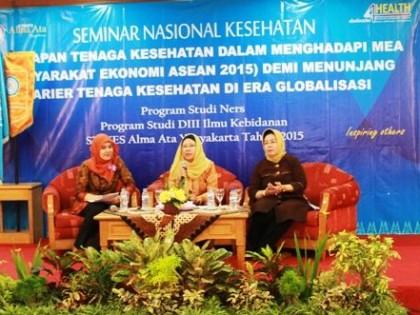 Seminar Nasional Kesehatan oleh Program Studi DIII Kebidanan dan Program Studi Ners STIKES Alma Ata