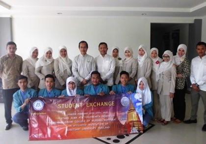 Student Exchange STIKES Alma Ata