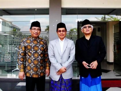 Gelaran Silaturahmi Act.Rektor Perguruan Tinggi Alma Ata dengan Beberapa Tokoh Ulama dan Tokoh Pendidikan
