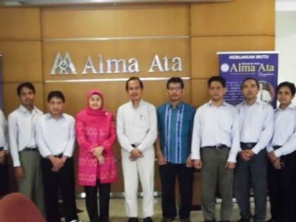 Visitasi Akreditasi Prodi S1 Ekonomi Syariah Alma Ata