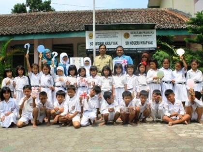 """Promosi Kesehatan """"Jajanan Sehat"""" di SDN Krapyak Desa Argorejo Sedayu Bantul"""
