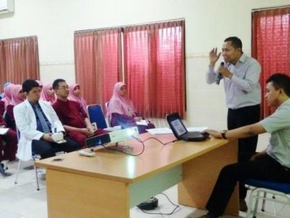 "Scientific Meeting "" Effective Communication in Nursing"" Jurusan Pendidikan Ners STIKES Alma Ata berkerjasama dengan RSI Hidayatullah"