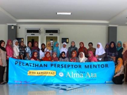 Pelatihan Preseptorship dan Mentorship di STIKES Alma Ata Yogyakarta