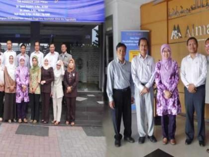 Visitasi Re-Akreditasi oleh Asesor LAM-PT Kes di Prodi Ners STIKES Alma Ata Yogyakarta
