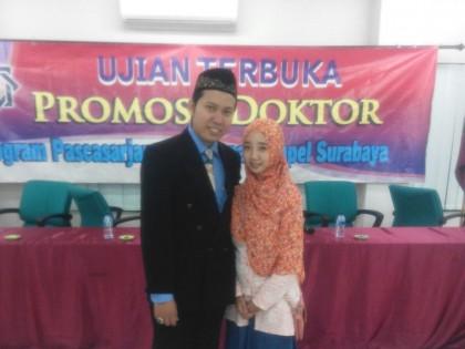 Dosen PAI STIA Alma Ata Yogyakarta Berhasil Raih Doktor