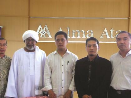 KERJASAMA STIA ALMA ATA YOGYAKARTA DENGAN UNIVERSITY OF THE HOLY QUR'AN  AND ISLAMIC SCIENCES SUDAN