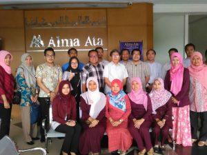 Prodi Administrasi Rumah Sakit Universitas Alma Ata Mengikuti Workshop Pengembangan Kurikulum