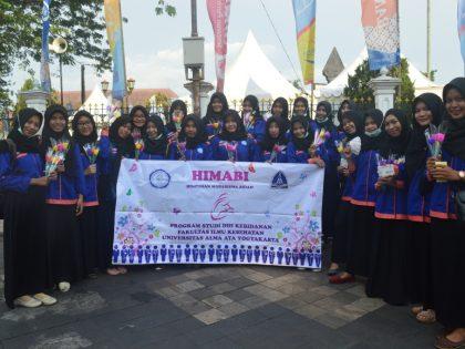 Himabi UAA Peringati HKN Ke-52 Di Seputaran Titik Nol KM dan Tamantirto