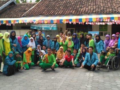 """Pik M """"Sahabat Remaja"""" Memperingati Hari Internasional Youth Day Di SLB Bangun Putra Kasihan, Bantul, Yogyakarta"""