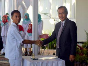 Mahasiswa Fakultas Ilmu-Ilmu Kesehatan Universitas Alma Ata, Laksanakan Ucap Janji Pra Klinik Sebelum Turun Ke Lahan Praktek