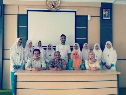 Mahasiswa Semester 2 S1 ARS UAA Menyelesaikan Praktek HE 1 di RSUD Wonosari