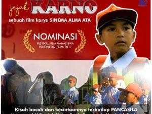 """""""Jejak Karno"""" Film Pendek Karya Sinema Alma Ata Terpilih Sebagai Finalis FFMI Tahun 2017"""