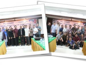 """Dosen Prodi Ilmu Sistem Informasi mengikuti Workshop """"Metodologi Penelitian Sistem Informasi"""""""