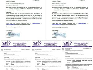 Konsistensi Dosen-Dosen Manajemen UAA dalam Mengikuti Seminar dan Konferensi baik Nasional dan Internasional