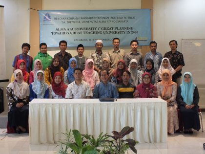 TEKNIK INFORMATIKA UNIVERSITAS ALMA ATA  DAN GREAT PLAN 2017- 2018