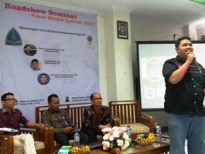 "Road Show Pasar Modal Syariah 2017 ""Membongkar Cara Jitu Berinvestasi  Sesuai Syariah"""