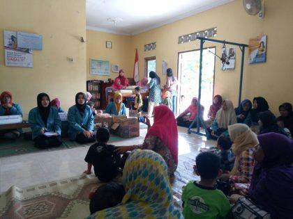 Mahasiswa Prodi DIII Kebidanan Universitas Alma Ata Dampingi Kegiatan Posyandu di Dusun Dingkikan, Argodadi, Sedayu, Bantul