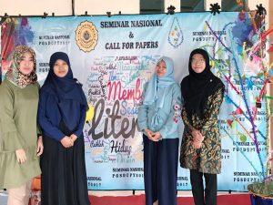 Salam Literasi!  Dosen PGSD UAA Menjadi Pemakalah Dalam Seminar Literasi