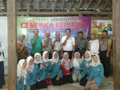 Program Pendidikan Bidan Komunitas DIII Kebidanan Universitas Alma Ata Menginisiasi Pembentukan Dusun Siaga Di Tiga Dusun Wilayah Kecamatan Sedayu
