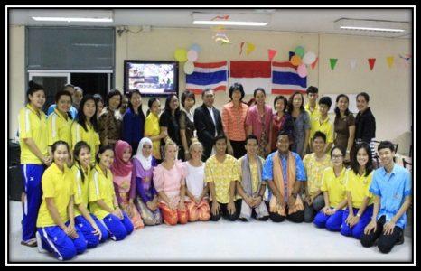 Pelaksanaan kegiatan student exchange -Universitas kasetsart Thailand