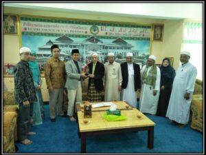 Penguatan hubungan kerjasama antara Masyarakat muslim Thailand dan Universitas Alma Ata