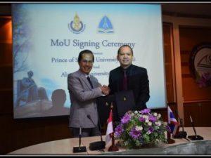 Universitas Alma Ata menandatangani Kerjasama dengan Prince of Songkla University Thailand di Hatyai, Thailand