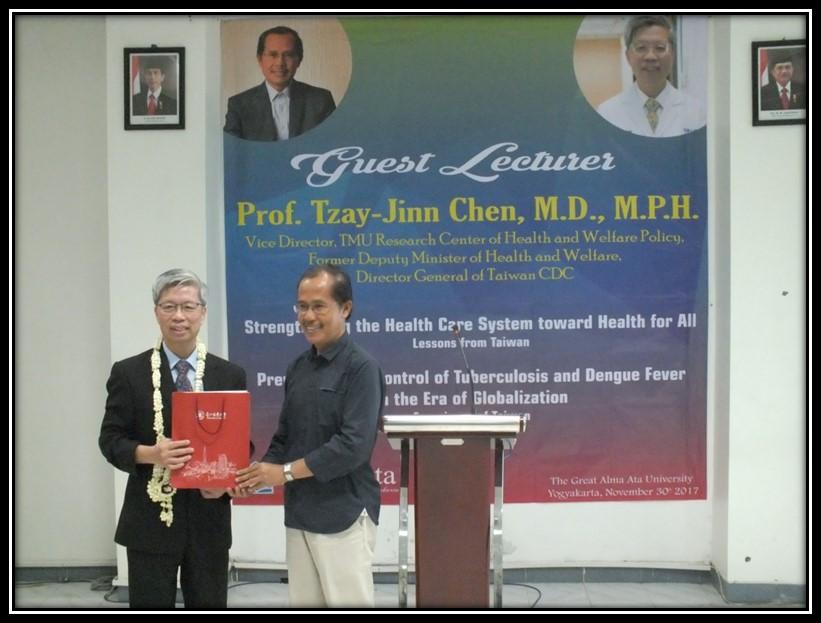 Prof Tzay-Jinn Chen TMU