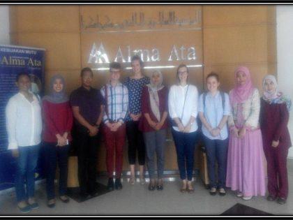 Kunjungan dari Pimpinan Volunteers in Asia (VIA) Amerika