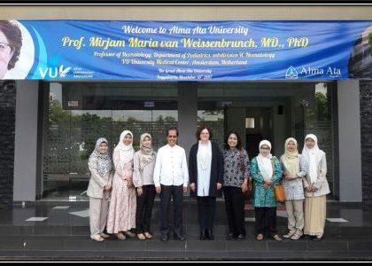 Visiting Lecturer Prof. Mirjam Maria Van Weissenbruch, MD., Ph. D