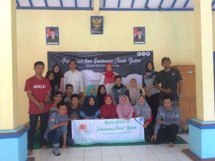 """""""Bersatu Untuk Berbagi"""" Tema Bakti Sosial Mahasiswa PAI Alma Ata"""
