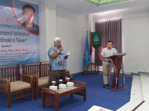 Ahli Parasitology and Tropical Diseases, College of Medicine, Taipei Medical University Taiwan memberi kuliah di Universitas Alma Ata