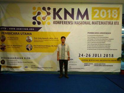 Kaprodi Pendidikan Matematika Alma Ata Hadiri Konferensi Nasional Matematika