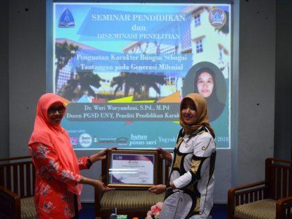 Hima PGSD Universitas Alma Ata  Menggelar Seminar Pendidikan & Diseminasi Penelitian Dosen