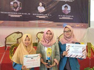 Angkat Potensi Umbi Porang, Mahasiswa Prodi S1 Gizi Universitas Alma Ata sabet Juara II LKTI