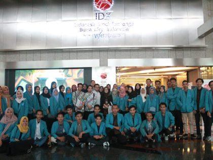 Mahasiswa Prodi Ekononi Syariah & Prodi Perbankan Syariah Kunjungi Bursa Efek Indonesia