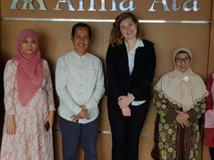 Muslims Civilization Exchange, misi ganda Universita Alma Ata dalam rangka turut membangun peradaban Dunia bekerjasama dengan Civilization Exchange and Cooperation Foundation (CECF), Maryland, USA