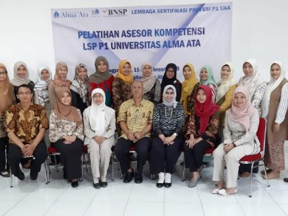Universitas Alma Ata (UAA) menggelar Pelatihan Calon Assesor LSP P1 UAA