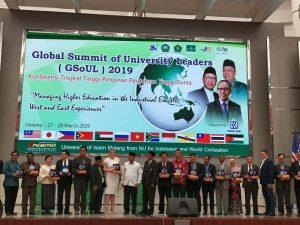 Universitas Alma Ata menandatangani kerjasama dengan beberapa universitas LN pada acara Global Summit of University Leaders.