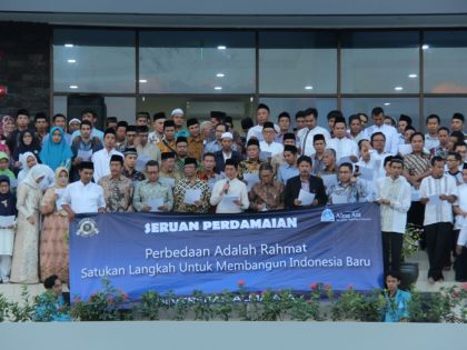 """The Nationality Dialogue and Communal Fasting Break with Alma Ata University """"A Momentum to Build New Indonesian Resolutions"""""""
