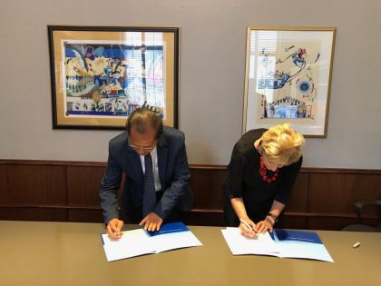 ALMA ATA UNIVERSITY, ACCEPTING EXTENSION OF COOPERATION WITH JOHNS HOPKINS UNIVERSITY, USA.