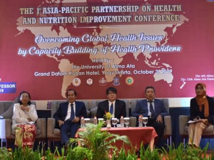 Alma Ata University Held The 1st Asia-Pacific Partnership on Health and Nutrition Improvement Conference (APHNI) 2019