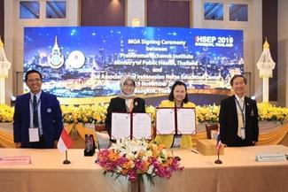 In Collaboration With Praboromarajchanok Institute, Thailand, The University Holds Joint International Seminars In Thailand.