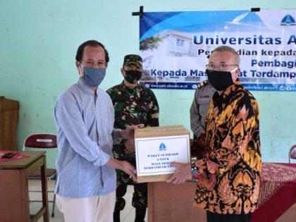 Universitas Alma Ata Salurkan 2.274 Paket Sembako kepada Masyarakat
