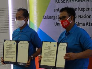 Universitas Alma Ata, Bekerjasama dengan BKKBN RI jalin Komitmen Berjuang Atasi Stunting