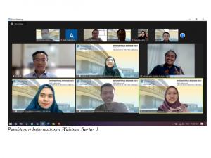 WEBINAR INTERNASIONAL FEB-UAA  HADIRKAN PEMBICARA DARI MALAYSIA, KOREA SELATAN, DAN THAILAND